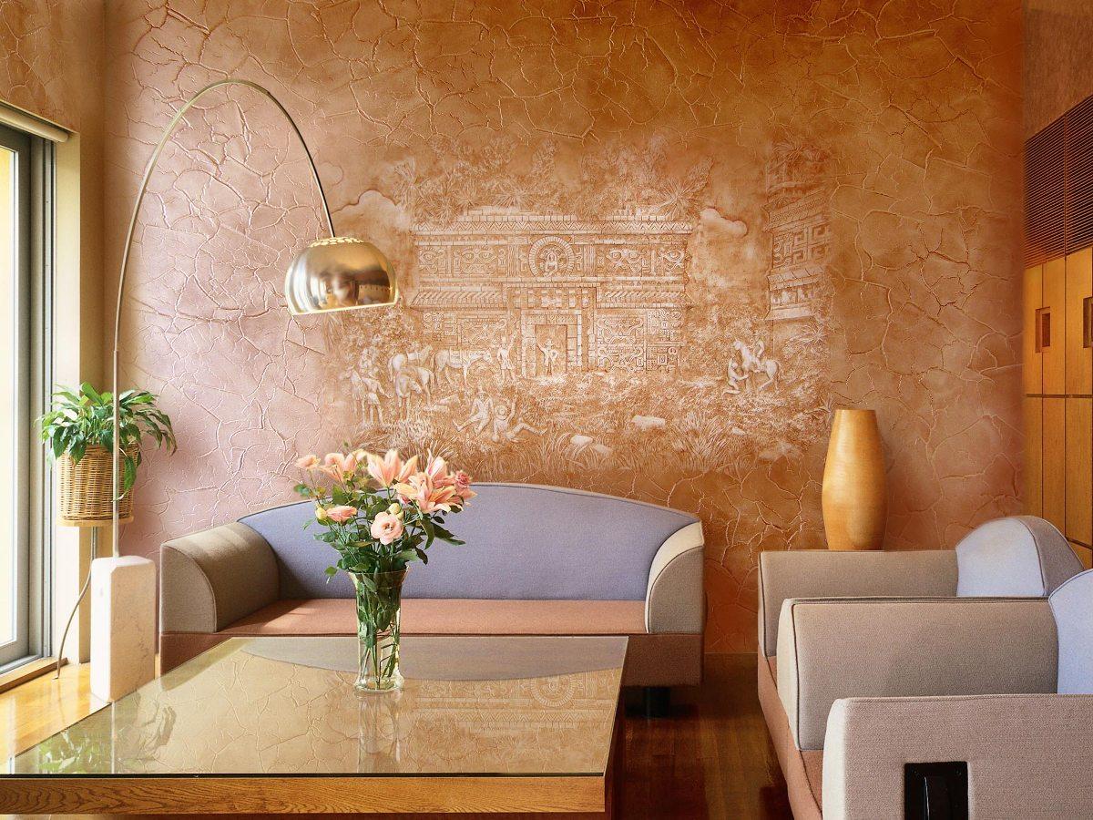 Декоративное оформление стен