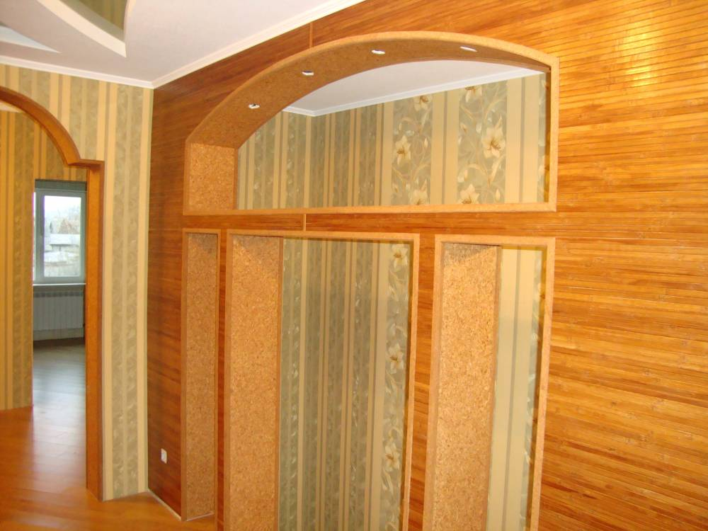 Дизайн ниши в комнате