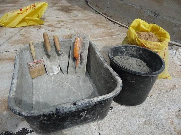 Расход цемента и песка на 1м3 раствора