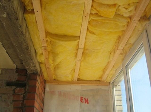 На этом этапе наш потолок выглядит примерно так.