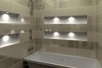 полости в ванной комнате