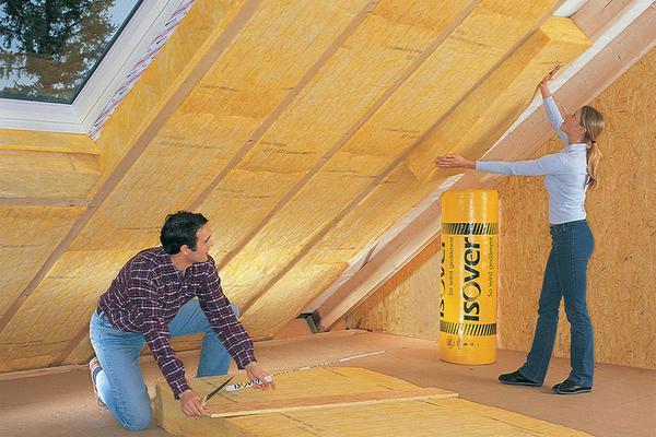 Правильная теплоизоляция потолка