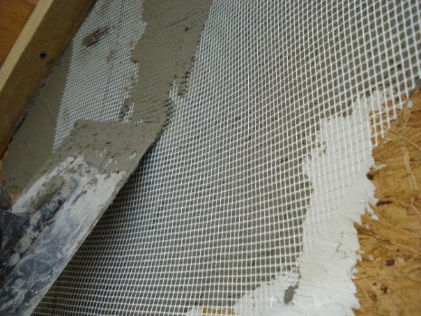 Оштукатуривание плит OSB