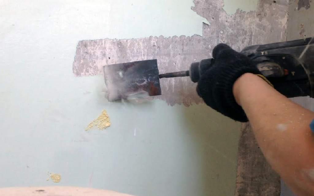 Подготовка стены к шпаклевке