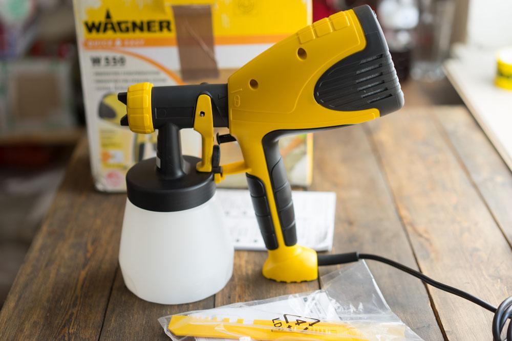 Краскопульт электрический WAGNER W 550