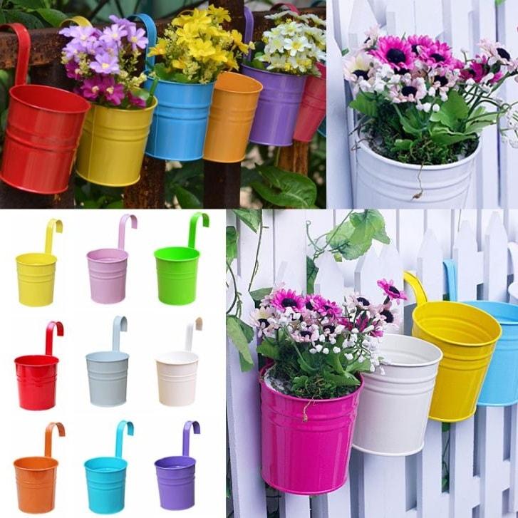 Яркие горшочки для цветов добавят свежести и красок вашему саду