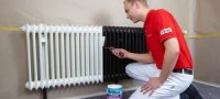 Краска без запаха для батарей отопления: особенности применения