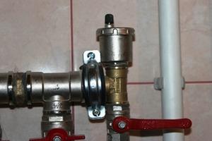 Кран для спуска воздуха из системы отопления