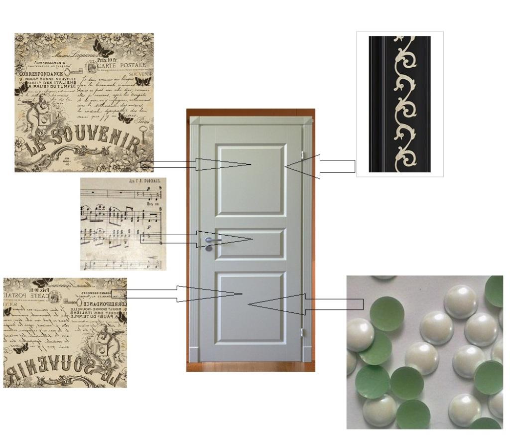 Как сделать дверь красивой