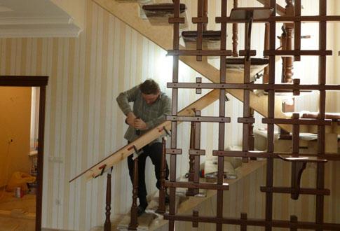 Пошаговая сборка своими руками деревянной лестницы