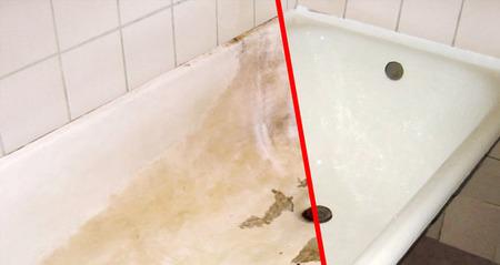 Покраска ванны эмалью