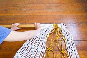 Как в домашних условиях плести гамак
