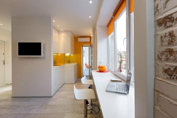 Дизайнерские подходы по планировке и расстановке мебели в маленькой квартире-студии