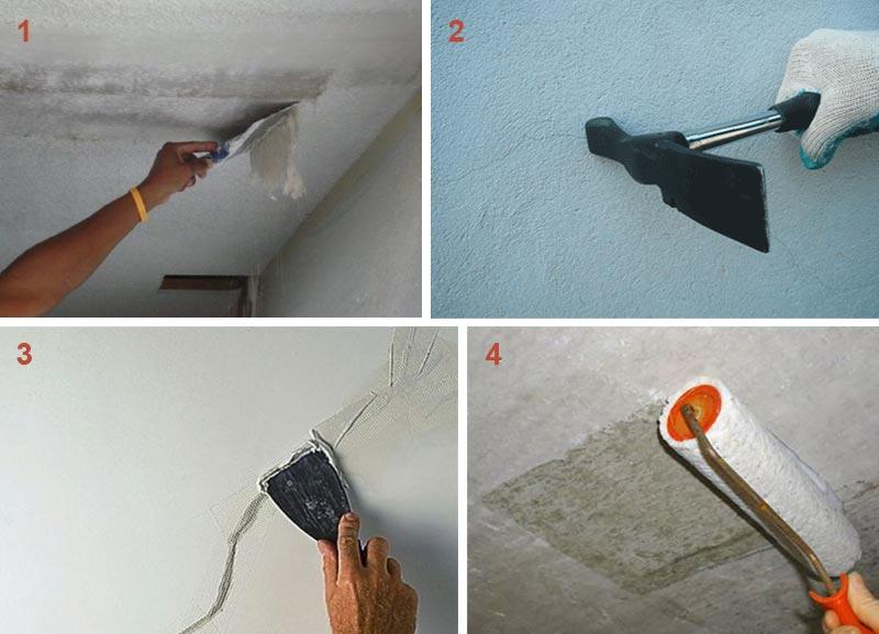 Этапы подготовки потолка к установке панелей