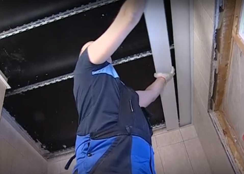 Установка реечных панелей своими руками