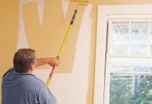 Чем красить стены в квартире вместо обоев (фото)