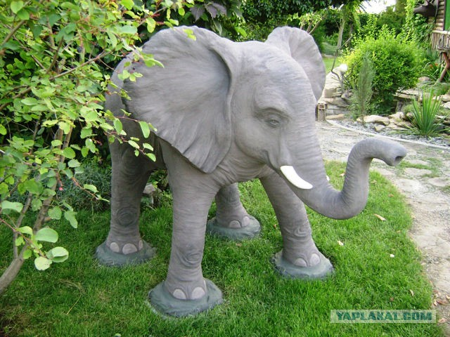 Изготовление садовых фигур своими руками