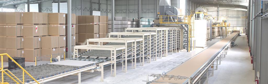 Производство гипсостружечных плит
