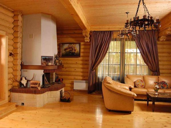 Самый подходящий материал для потолка в деревянном доме