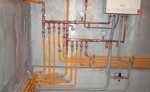Трубы отопительные для газового котла