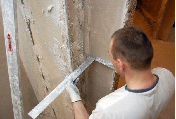 Поэтапный ремонт стен