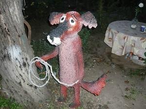 Собака из монтажной пены Жил был пес фото