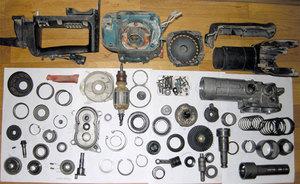 Ремонт  электродвигателя перфоратора