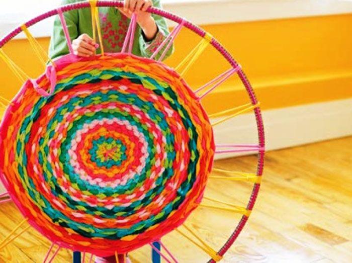 Плетение на хула-хупе