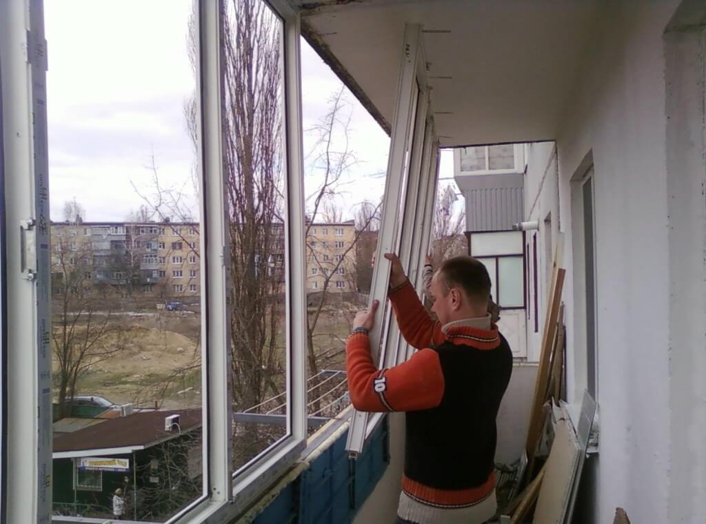 Остекление балкона своими руками - пошаговая инструкция