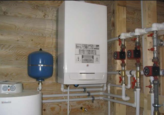 газовая система отопления частного дома