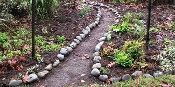 Как сделать садовую дорожку своими руками: 70 вдохновляющих фото + инструкции
