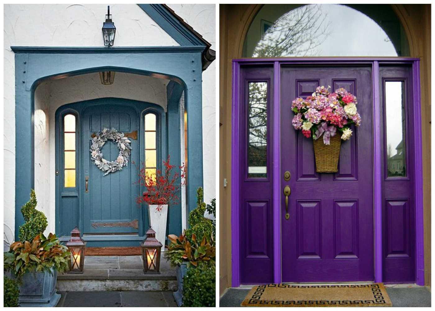 50 фото идей декора межкомнатных дверей: