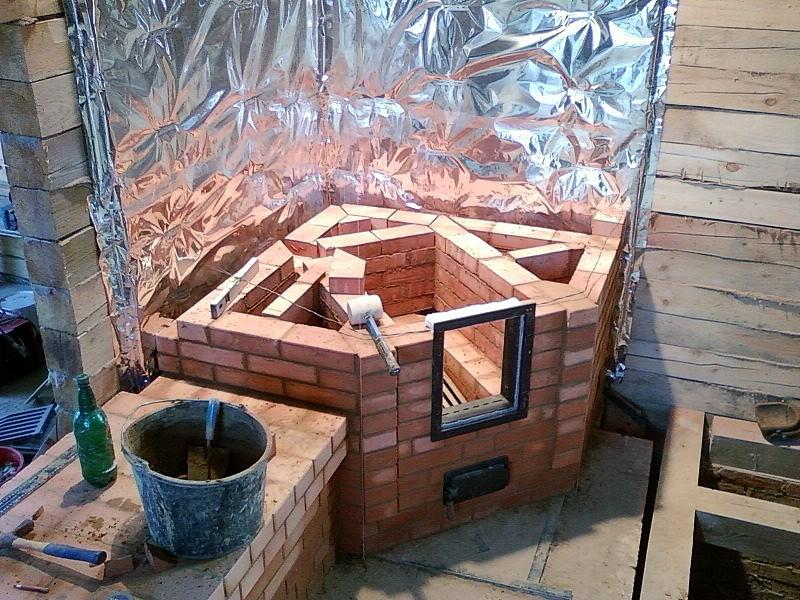 Изоляция стен в деревянном доме