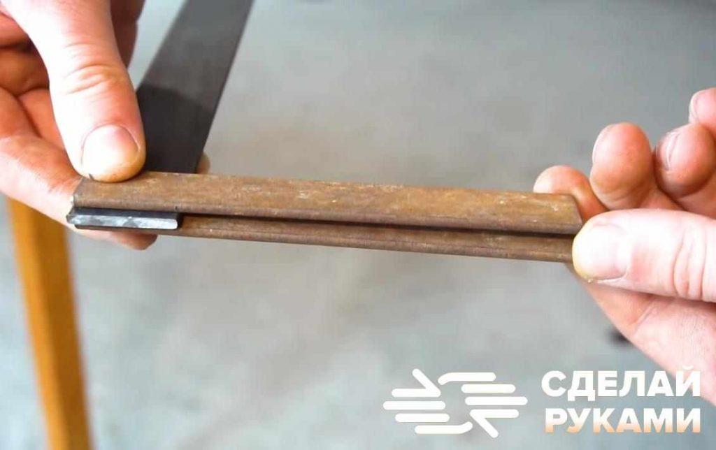 Быстрозажимная струбцина из полос металла своими руками
