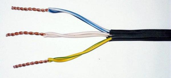Соединение проводов методом скрутки