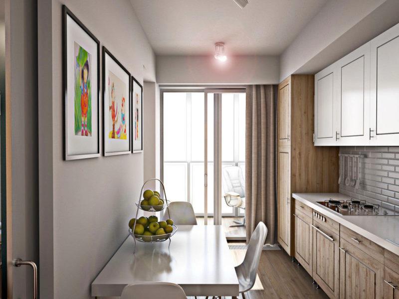 Ремонт: стены на кухне