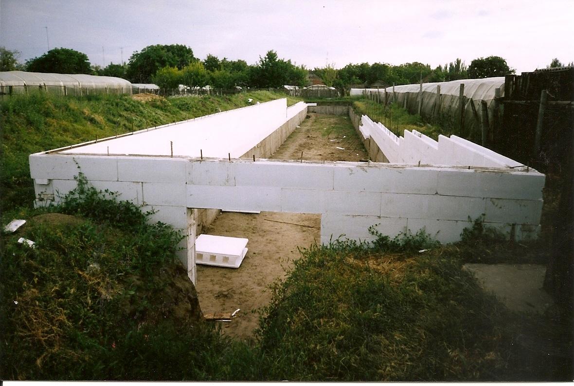 Строительство стен из термоблоков