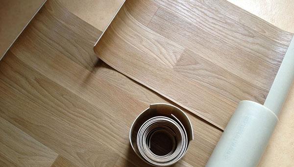 Линолиум на деревянное основание
