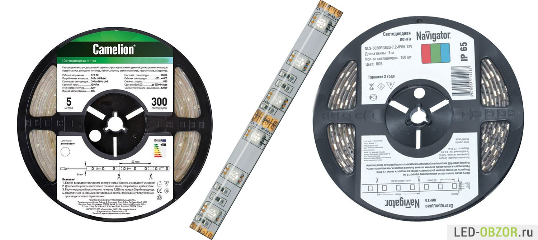Как выбрать светодиодные ленты 12в для подсветки потолка