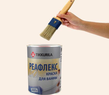 Как покрасить ванну эмалью