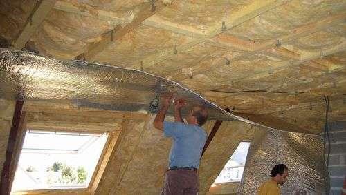Ремонт дома потолок