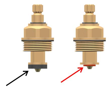 Расположение прокладки на кран-буксе