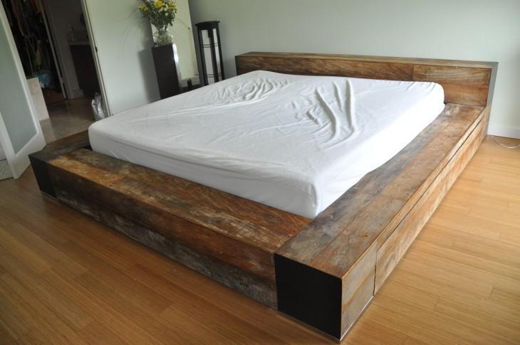 Кровать своими руками — инструкция по созданию роскошного спального места (71 фото-идей)