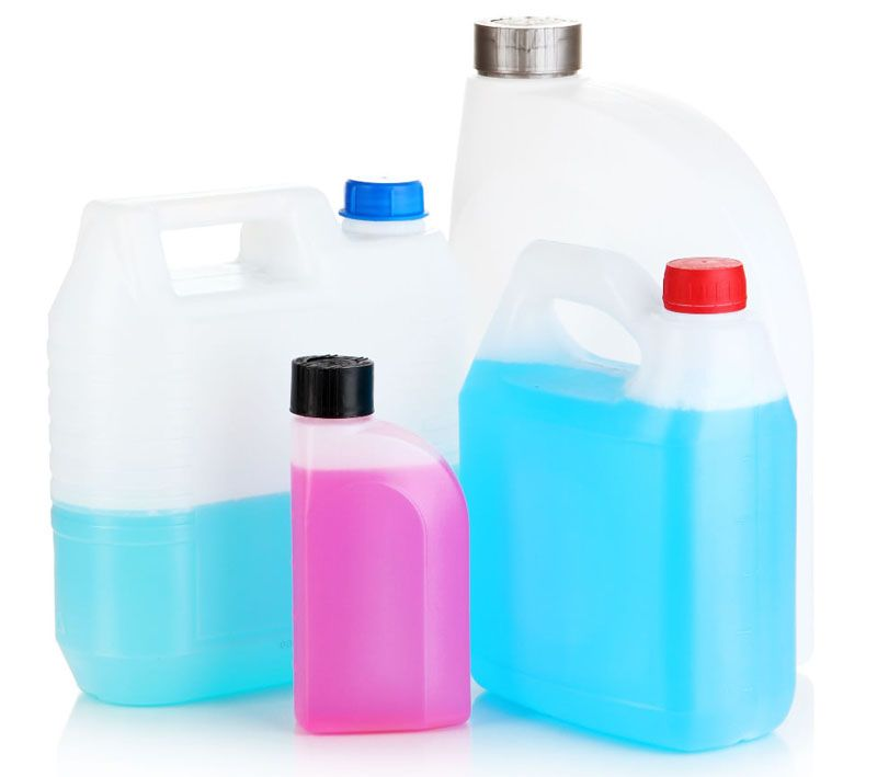 Цвет состава способен многое рассказать о его химическом составе