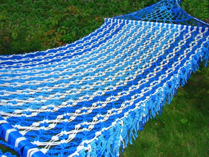 Способы плетения гамака