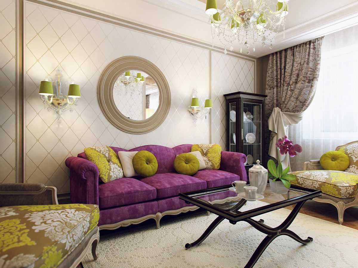 Способы декорирования гостиной