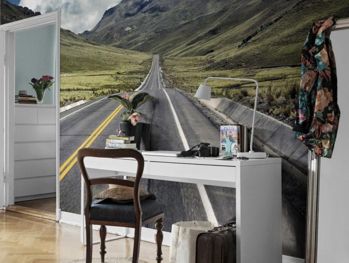 Обои с 3д эффектом: виды, идеи дизайна, реалистичные примеры в интерьере