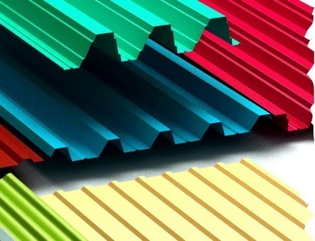 Укладка профнастила на крышу — инструкция
