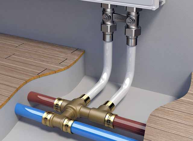 Красивые трубопроводы отопления