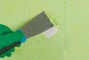 как снять со стен старую краску?